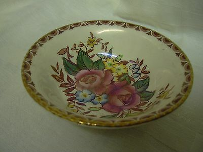 Maling pottery vintage Rosalind lustre small bowl