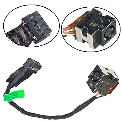 New Genuine Hp Compaq 650 655 Cq58 Dc In Jack Power Socket Cable (E027)