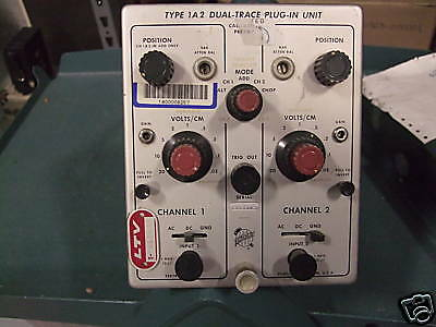 Tektronix 1A2 Dual-Trace Plug-In Unit