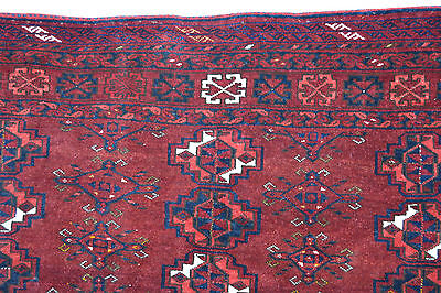 Große Afghanistan Taschenfront 180x105cm Jowal Chuval bagface tapis rug tappeto