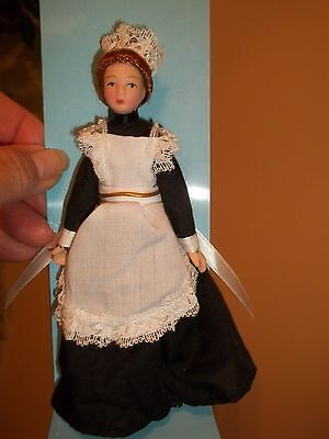 PORCELAIN UPSTAIRS MAID DOLL - POSEABLE