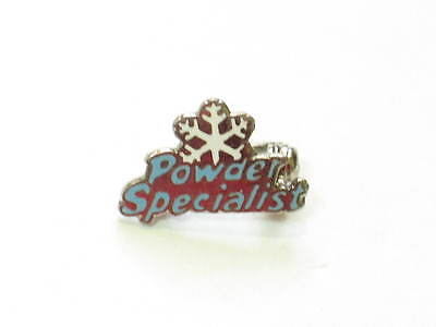 Powder Specialist Skiing Pin  (#563)