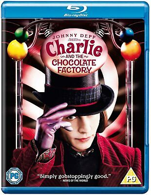 Charlie And The Chocolate Factory [2005] (Blu-ray) Freddie Highmore