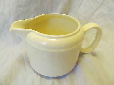 J & G Meakin England TREND Simple White Creamer