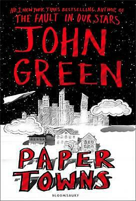 Paper Towns by John Green Hardcover Book Free Shipping!