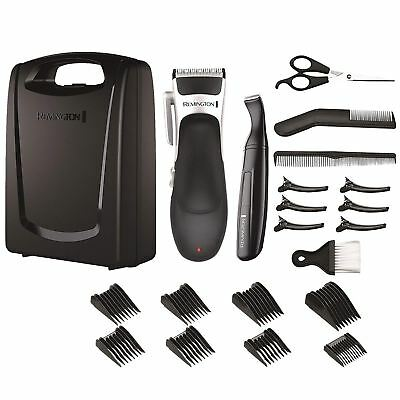 Remington Men's Stylist Hair 25 Piece Clipper Shaver Kit Set - HC366