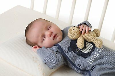Clevamama Clevafoam Baby / Toddler Pillow reduces flat head syndrome