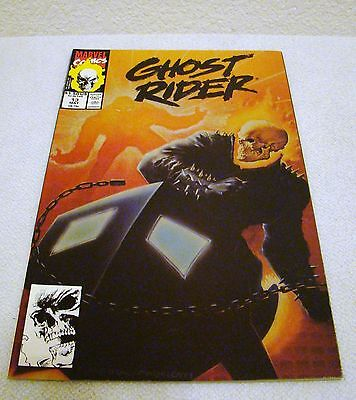 Marvel Comics Ghost Rider #13 May 1991 Excellent Condition Collectble Comic Book