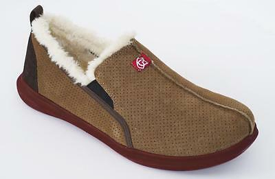 Spenco Slipper - Mens Supreme Suede Bison - 13