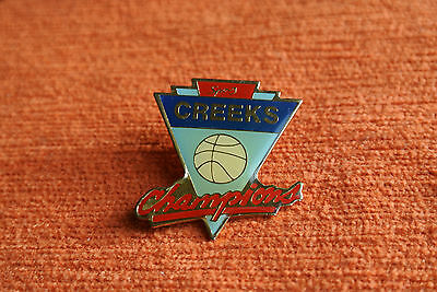 03051 Pins Pin's Creeks Champions Nba Basket Basketball
