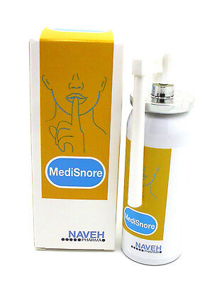 Medisnore Anti Snoring Throat Spray 50Ml Safe & Effective + Extended Appicator