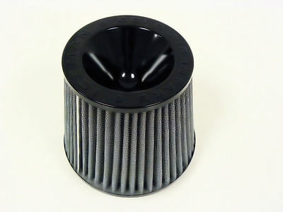 "BLACK ICEMAN 3"" 76mm INLET UNIVERSAL REWASHABLE RACING  AIR  FILTER JDM STYLE"