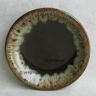 Canonsburg Coupe Soup Bowl Brown Green Drip Carefree Ironstone