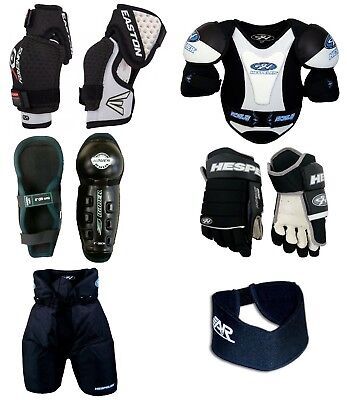Youth Large Ice Hockey Protective Gear Kit Set Kids Equipment Package New
