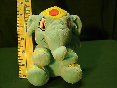 Neopets Blue Elephante Elephant NEW Condition NO KQ Code Plushie Plush Series 2