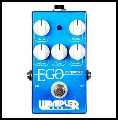 Wampler Ego Squasher Compressor Guitar Effects Pedal Made in USA