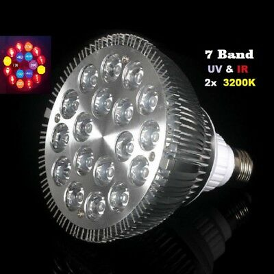 54 Watt Led Pflanzenlicht Grow Light 7 Band Voll Spektrum E27 Full Spectrum 54W