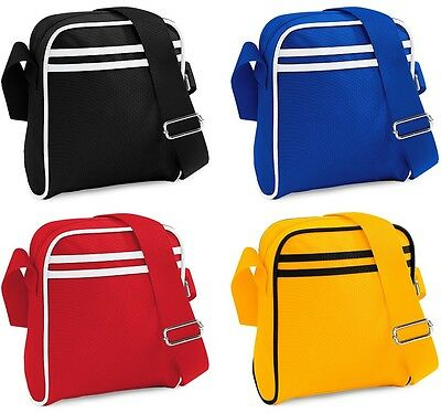 BagBase BG78 Retro Mini Reporter Shoulder Bag - Various Colours
