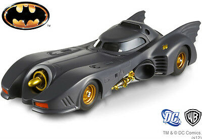 X5494 1989 Batman Batmobile Gotham 1:43 Scale Diecast Model Hotwheels Car Gift