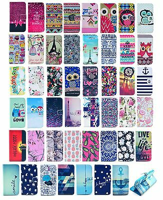Vintage Stand Wallet Leather Rubber Hybrid Soft Case Cover For Nokia Lumia 520