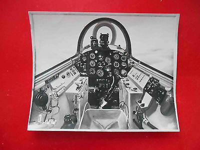 USSR RUSSIA Military aircraft. Cabine inside. Real photo circa 1970-x