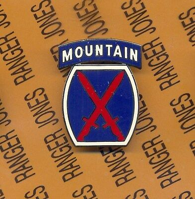 US Army 10th Mountain Division Combat Service Identification Badge CSIB