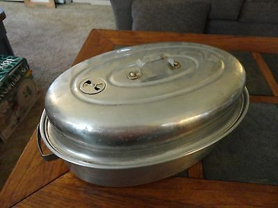 Comet Aluminum Covered Roaster - Excellent condition!