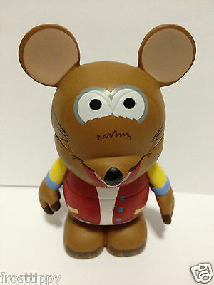 "Disney Vinylmation Muppets Series #1 3"" Rizzo the Rat Mickey Mouse *RETIRED*"