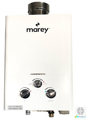 Marey Best On-Demand Tiny House Tankless LPG Water Heater 1.3 GPM GA5LP Propane
