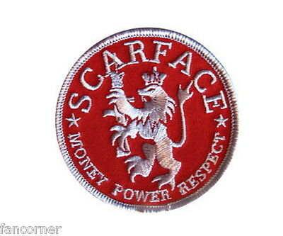 Scarface ecusson officiel Tony montana Money scarface official embroidered patch