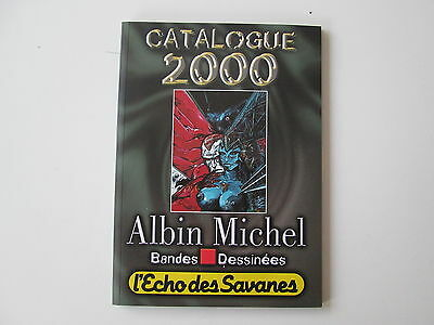 Catalogue Bandes Dessinees Albin Michel 2000 Ttbe