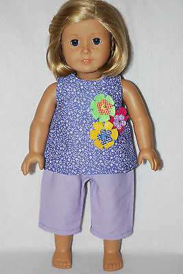 """doll clothes fit 18"""" American dolls handmade in the USA.by Grandma good quality"""