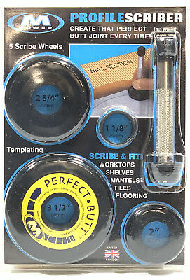 Profile Scribe - M-Power - 5 Tracing Wheels - T7334