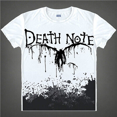 Anime Death Note ! women's and men's Costume T-shirt Brand New
