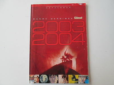 Catalogue Bandes Dessinees Glenat 2003 2004 Ttbe