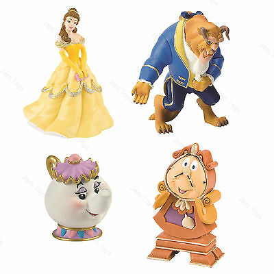 Official Disney Beauty and the Beast Figures Figurine Toy Cake Toppers Bullyland