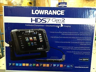 LOWRANCE HDS 7 GEN 2 TOUCH W/ STRUCTURE SCAN, 000-10778-001, 9420024118580