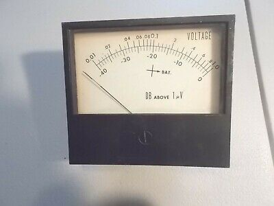 Simpson Db 1Uv Voltmeter