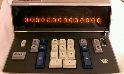 Sony Sobax ICC-400W Calculator Computer Vintage Smithsonian Collection 1960's
