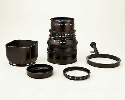 Hasselblad 150mm f4 Zeiss Sonnar T* C f/4 telephoto lens & Acc