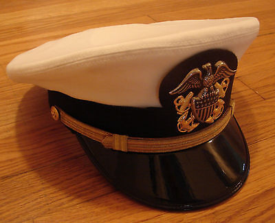 US Navy Uniform - Naval Officer - Combination Cover/Hat  7 1/2