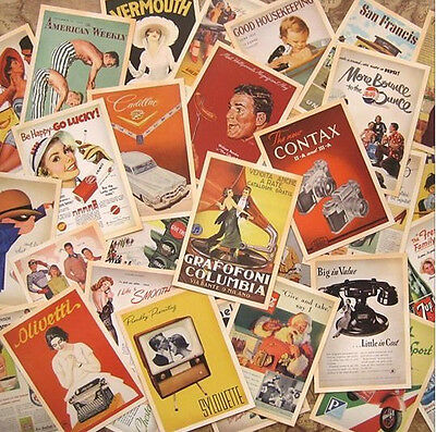 Lot of 32 Vintage old movie Postcards 4x6 inch photo picture poster print #1