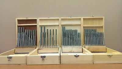 All in One Combo HSS Chucking Reamer Set in Fitted Case, #5500