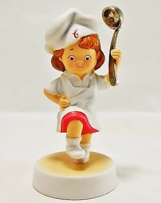 Collectable 2003 Campbell Soup Girl Figurine