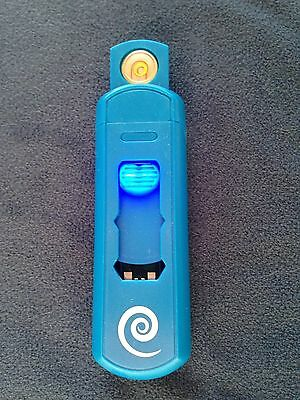 Electronic Lighter - Elementium, USB Rechargeable, Flameless, Windproof - Blue 1