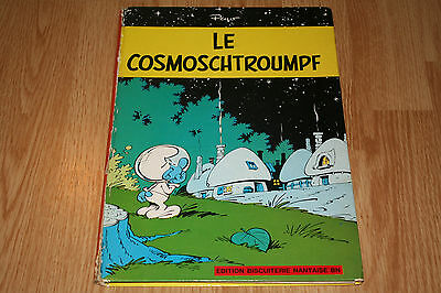 "Peyo ""Le Cosmoschtroumpf"", Les Schtroumpfs EO Biscuiterie Nantaise BN 1967"