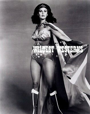 LYNDA CARTER Sexy Busty Photo HOT CLEAVAGE Wonder Woman RARE patriotic camel toe