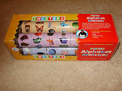 Twisterz Toys, Model: TZ-AM010 Alphabet Matcher, ABC Picture Sorting Tool, NEW