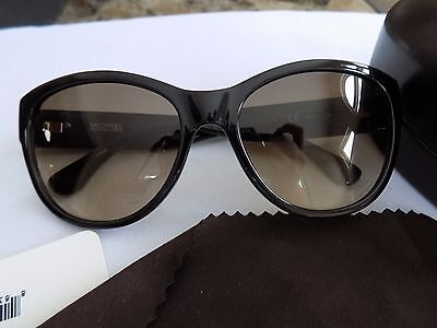 Michael Kors 2892S 001 Black Vivian Cats Eyes Sunglasses