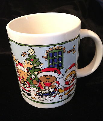 Christmas Animal Mug made by Sanyei